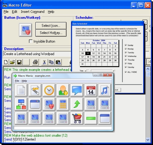 Click to view Macro Mania 13.3.3.061 screenshot
