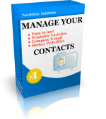 Manage Your Contacts  DELUXE (up to 100 entries)